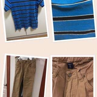 Gap Pants And Shirt