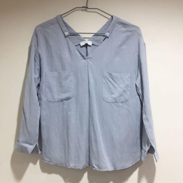 氣質棉麻襯衫(可露肩)
