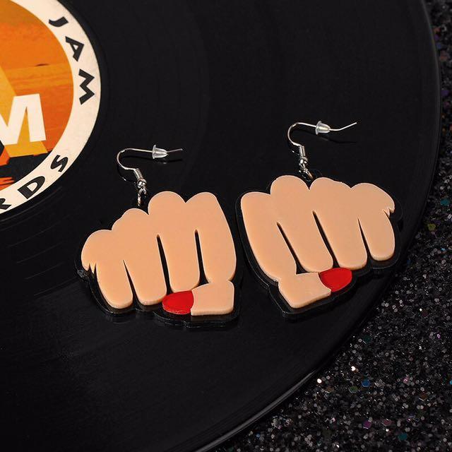 歐美爆款特殊造型耳環