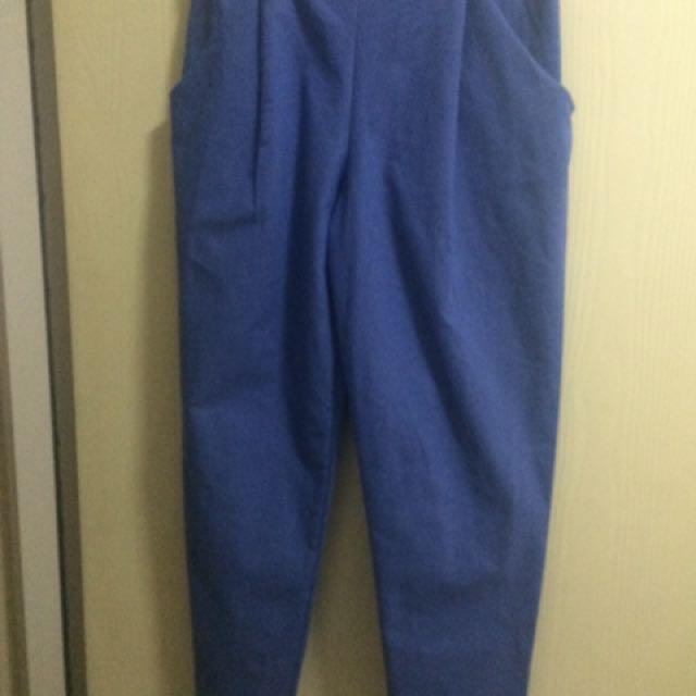 淺藍老爺褲