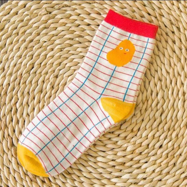 趣味 復古 襪子