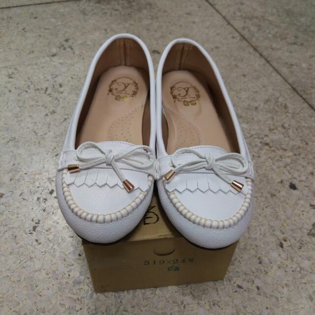 平底鞋  娃娃鞋  包鞋  淑女鞋  全新