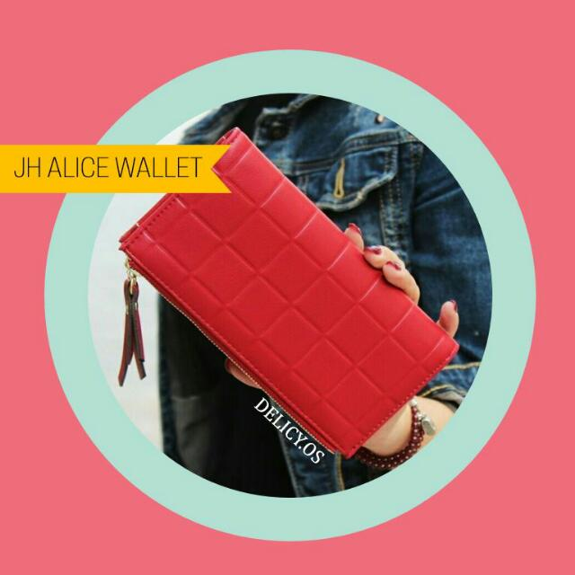 ALICE WALLET RED