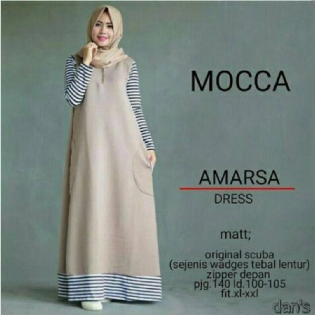 Amarsha dress Mocca