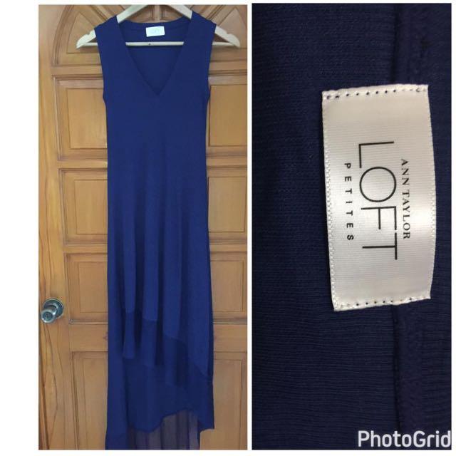 Ann Taylor Petite Maxi Dress