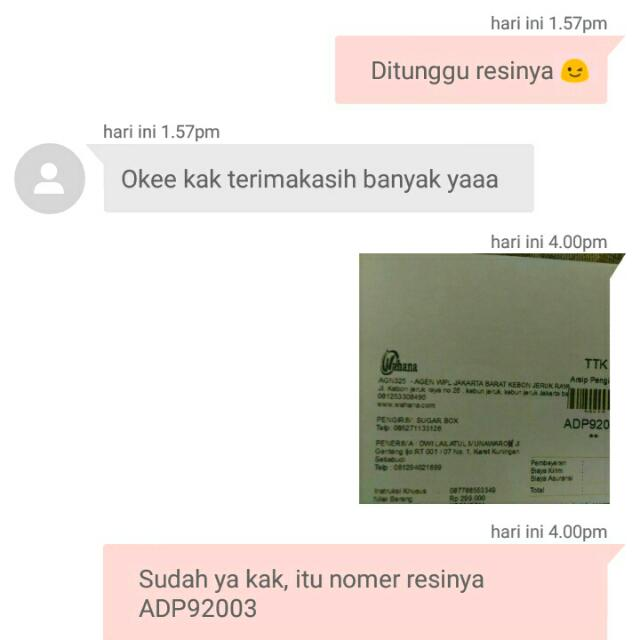 ANOTHER TESTIMONIAL, Trusted And Fast Respont Sis ! 😘