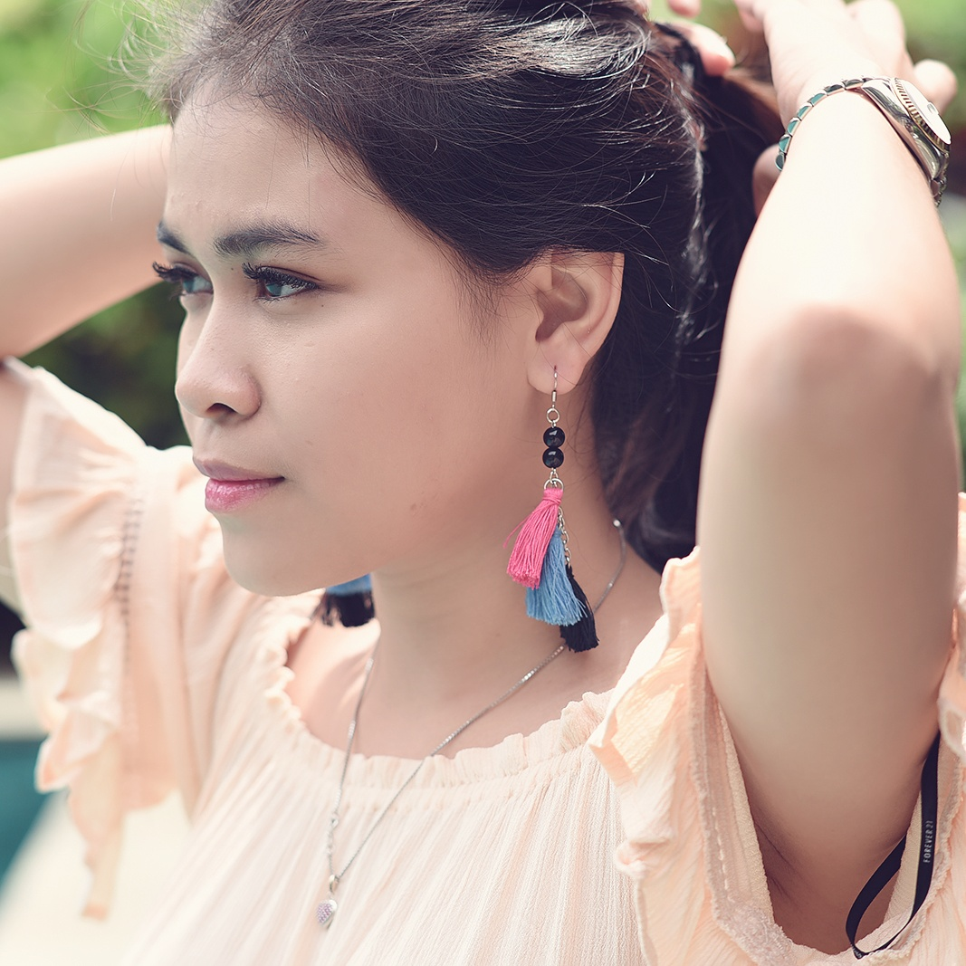 ANTING HANDMADE - ARIES TASSEL / EARRINGS / EARRING / GIWANG / ANTING PESTA