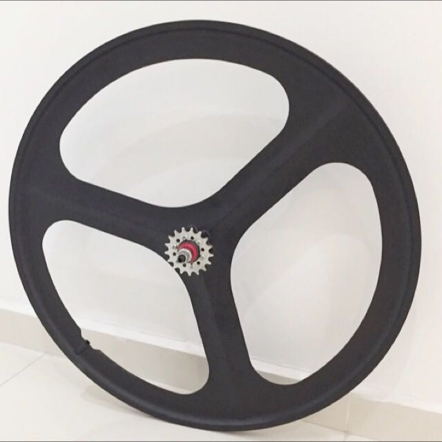 ***Trispoke Rim Magnesium Alloy $90  *Without tube and tire., price -Front or Rear... 1 pair is 160$
