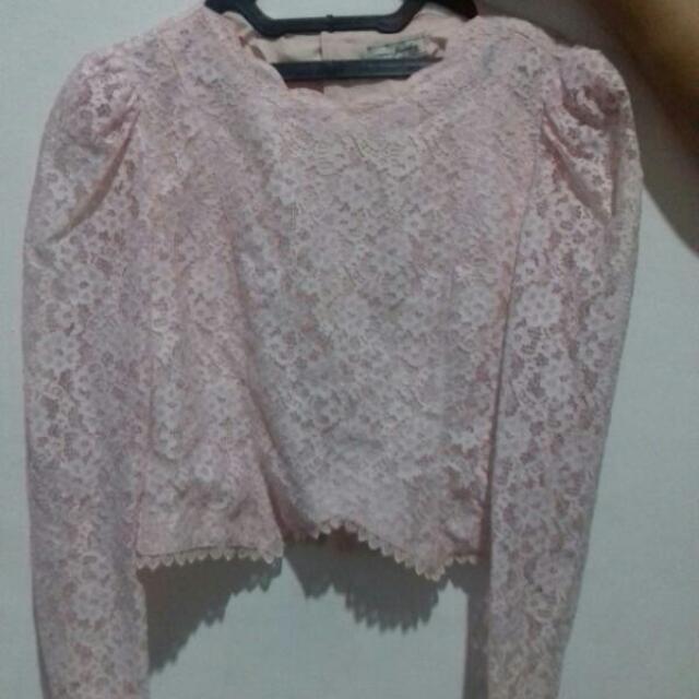 Atasan Pink Soft