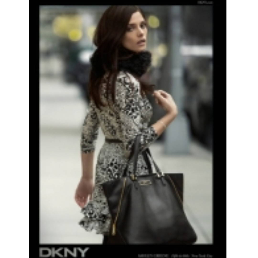 Authentic DKNY Saffiano Leather Tote 70% Off