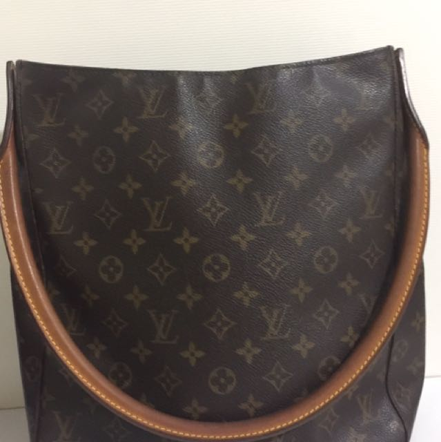 4ae575cc93bf Authentic Louis Vuitton Looping GM Shoulder Bag