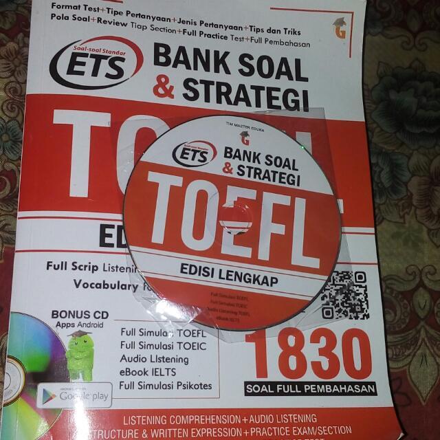 BANK SOAL & STRATEGI TOEFL