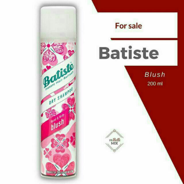 Batiste Dry Shampoo 200 ml - Blush