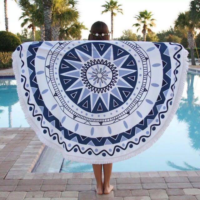 Beach Towel (round)