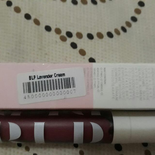 BLP Beauty By Lizzie Parra - Lavender Cream