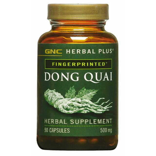 [BN] Dong Quai Root Powder Capsule Supplement 500mg