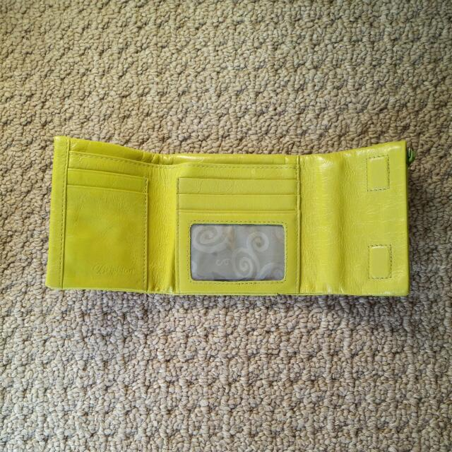 Brighton Spring Song small leather wallet