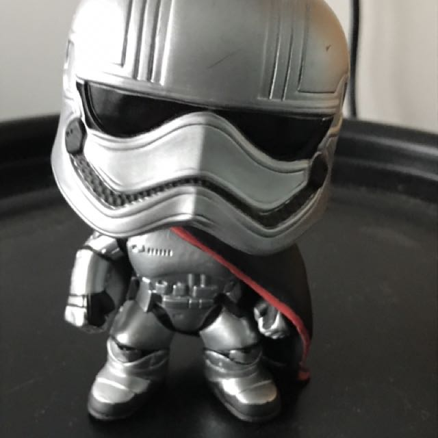 Captain Phasma Trooper Bobblehead Pop