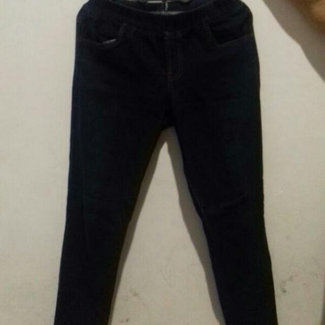 Celana Bahan Jeans Street