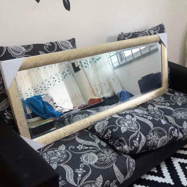 Cermin Deko Home Furniture Home Decor On Carousell