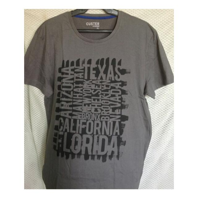 REPRICED @200  Custer Homme Men's Tee