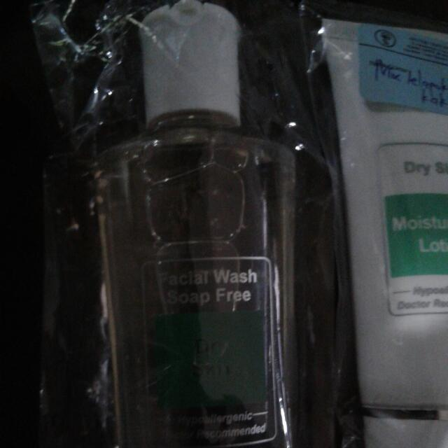 Daily Lotion And Face Wash Dermatology