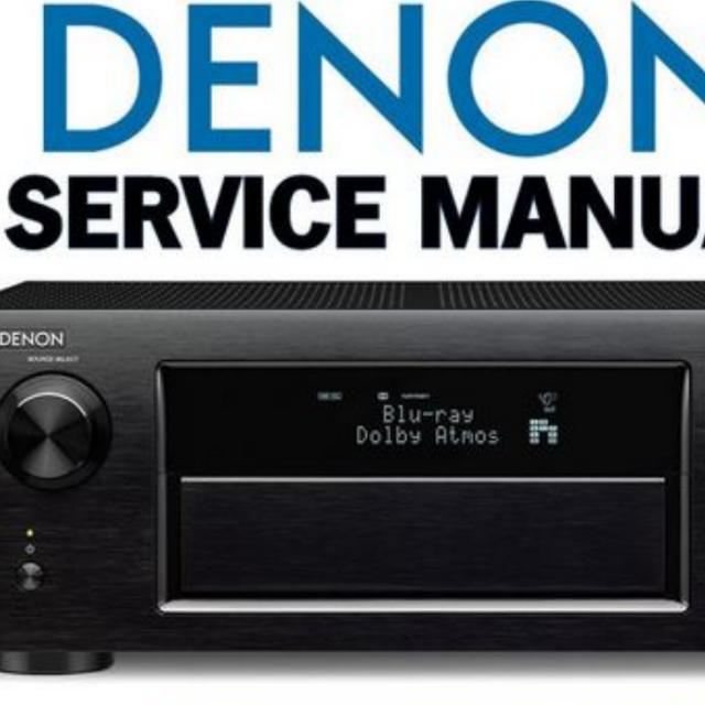 denon x5200 avr service manual electronics audio on carousell rh sg carousell com denon avr 1912 owners manual denon avr-1912 user manual pdf