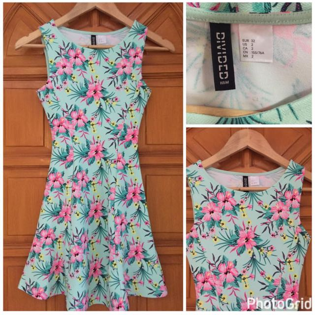 Divided By H& M Floral Dress