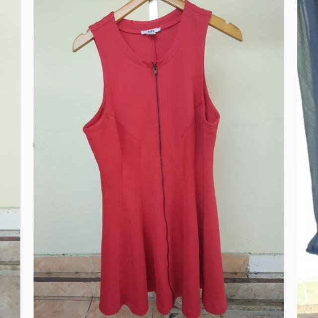 Dress Bigsize Warna Merah