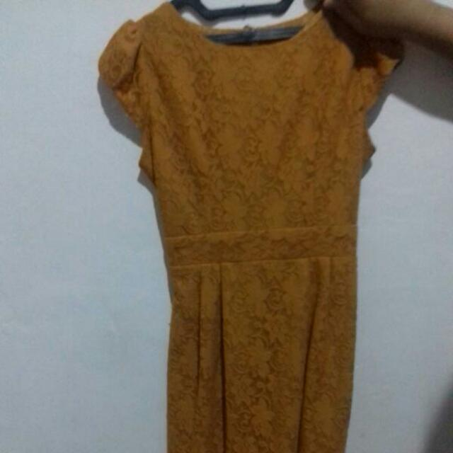 Dress brukat chantik