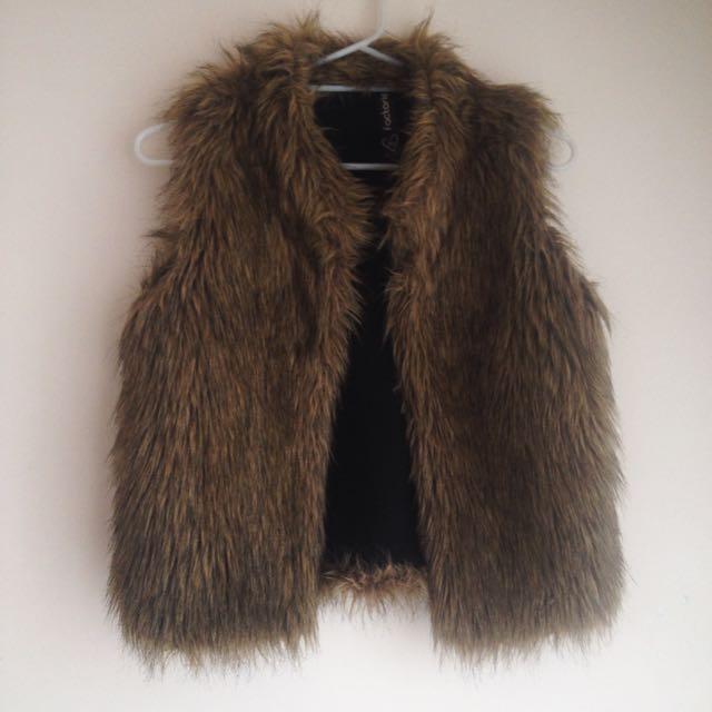 Factorie Fur Vest