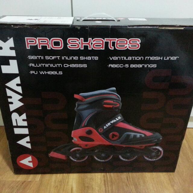 Genuine Airwalk Pro Skates 10UK 44.5 EUR 4ae453b0ad5b