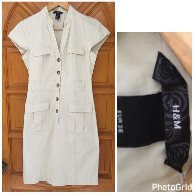 H & M Soft Denim Dress