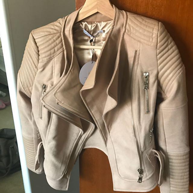 Hanellei Bessy Biker Jacket - Brand New - XS/6