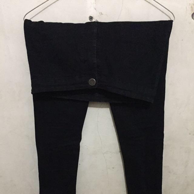 Highwaist Black Jeans Punny