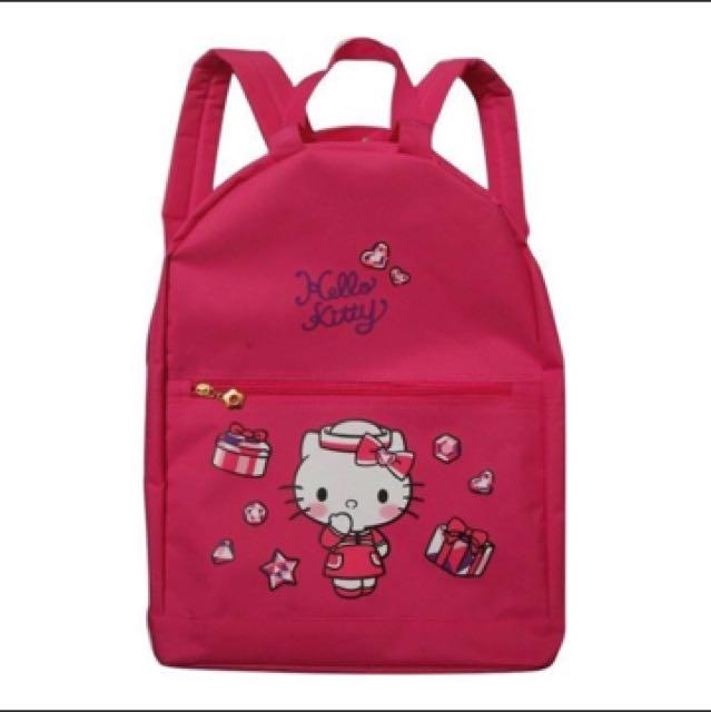 Hollo Kitty桃紅背包