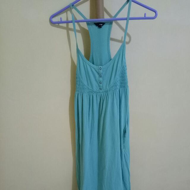 Hurley Teal Maxi/Long Summer Dress