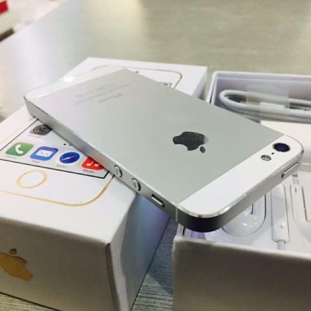 iPhone5 16gb Silver
