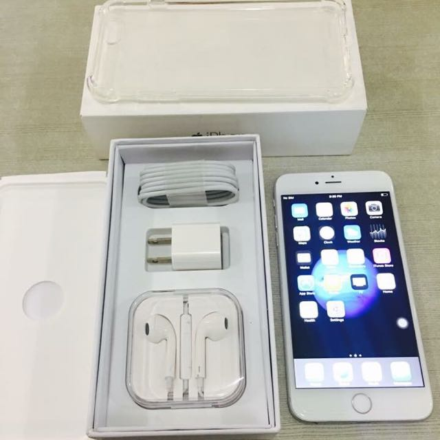 iPhone6Plus 64gb Silver