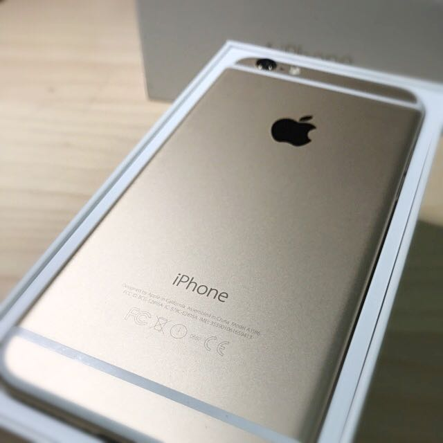 Iphone Model A1586 >> Iphone 6 Gold 64gb Model A1586 Mobile Phones Tablets Iphone