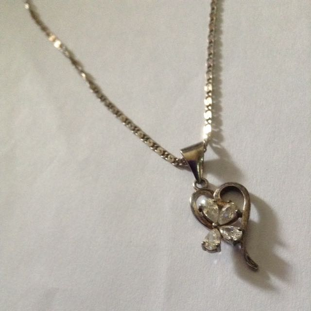 Italy silver Necklace