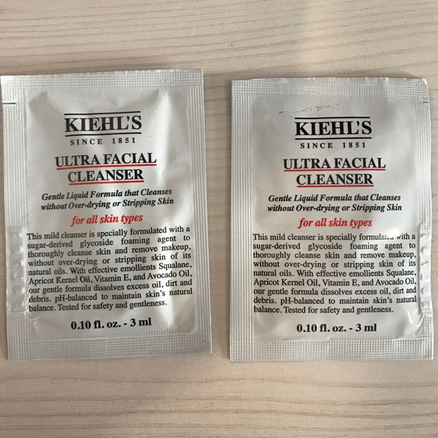 Keihl's Ultra Facial Cleanser Sample