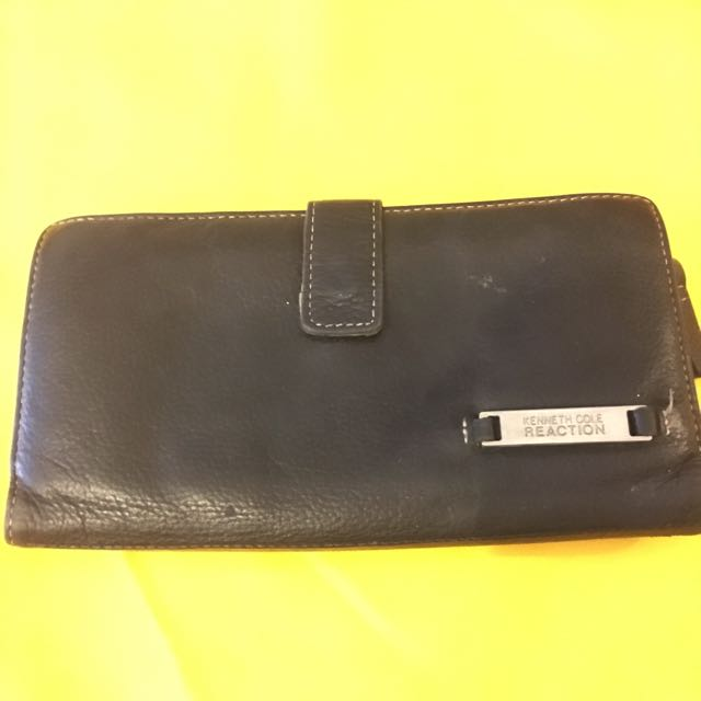 Kenneth Cole All Leather Wallet