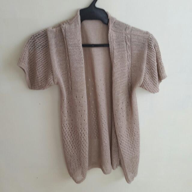 REPRICED: Knitted Blouse/ Cover Up