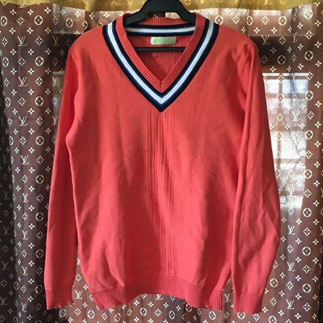 Knitted Sweatshirt and Linen Longsleeve 350 Each
