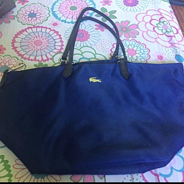 Lacoste Blue Bag