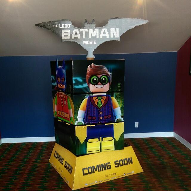 Lego Batman Standee