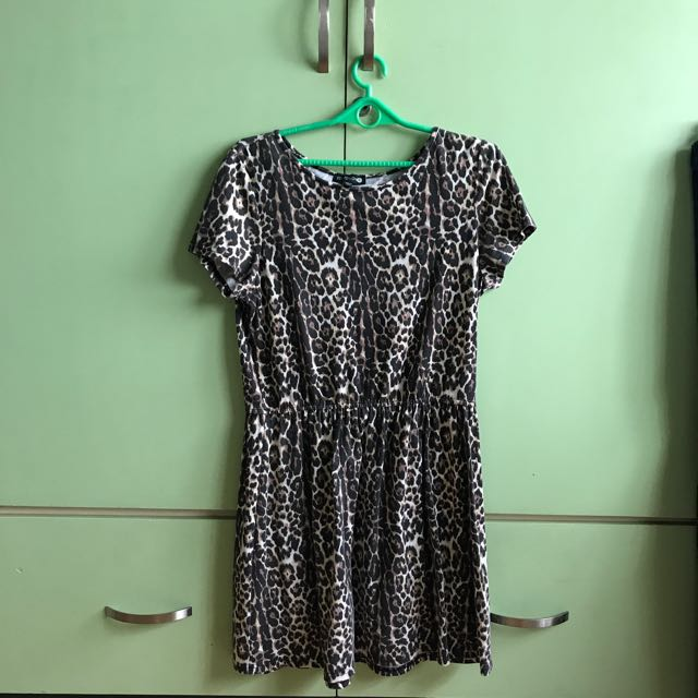 Leopard Cotton On Casual Dress