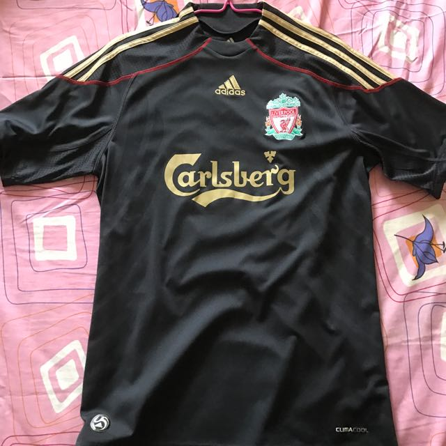 e9cd9feff Liverpool 09 10 Away Jersey With Rare Torres And El Niño Print ...
