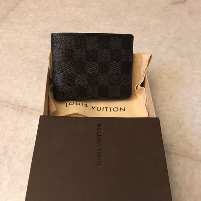 Louis Vuitton Men Wallet Genuine